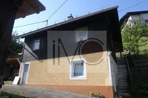 Kleines Haus mit Stadel und großem Grundstückin Töplitsch
