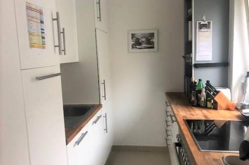 Ruhige helle freundliche Wohnung mit Kinderzimmer, Loggia und Parkplatz