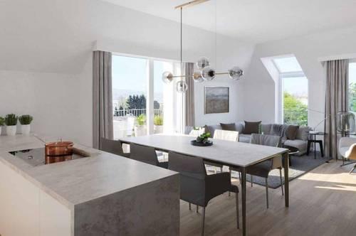 Dachgeschoß Wohnung nähe Wien - NEUBAU! Provisionsfrei für den Käufer!!!