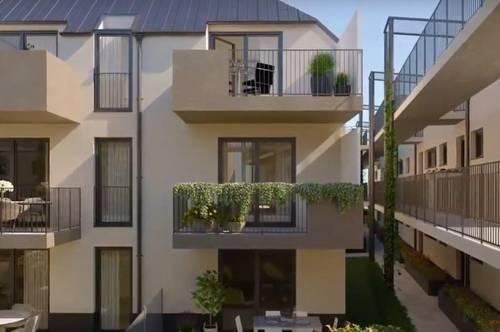 Eigentumswohnung mit Garten auf Eigengrund - Provisionsfrei für den Käufer! Nähe Wien!!!