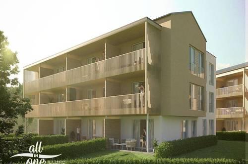 4 Zimmer Neubau Wohnung mit großem Balkon in Klagenfurt Lendorf!