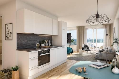 Donaumarina | 3-Zimmer Wohnung mit großer Loggia | Unbefristet | Apartments Top 2.02