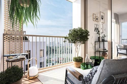 Fairer Preis - Provisionsfrei und unbefristet- großer Balkon- Donaumarina | Apartments Top 3.19