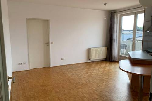 LINZ – KEFERFELD: 2-Zimmer-Wohnung in ruhiger Wohnlage (inkl. Loggia, Kellerabteil und Tiefgarage)