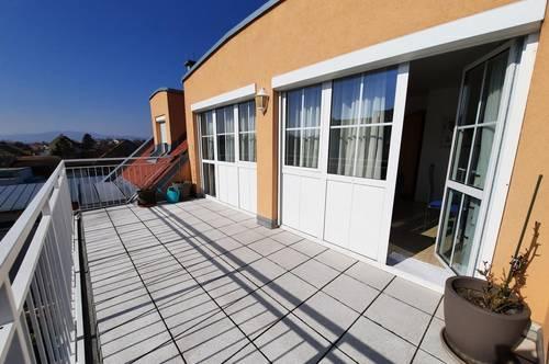 Nähe Laxenburg, Ruhige Traumwohnung mit Sonnenterrasse und Garagenplatz