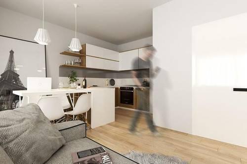Neubau: Geräumige 2-Zimmer Wohnung mit Loggia