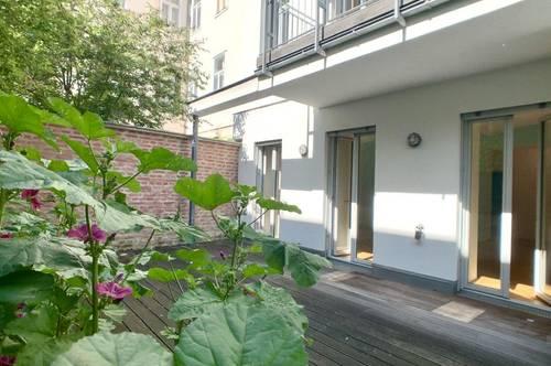 Exklusives Townhouse - mit Garten, Terrasse und Balkon im Stilaltbau!