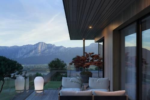 Mondseeblick Dachgeschosswohnung mit grossem Balkon und Seeblick