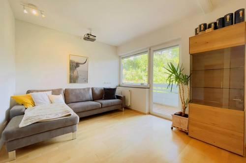 Voll möblierte 3-Zimmer Wohnung in schöner Lage mit Blick ins Grüne
