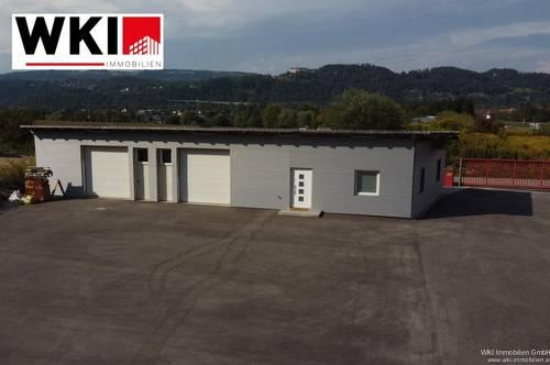 Gewerbeimmobilie für Werkstatt oder Produktion - 2 Hallen mit Rolltoren
