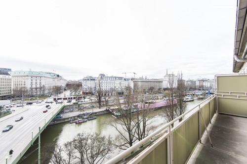 Sanierungsbedürftige Wohnung mit traumhaften Blick in 1020 Wien zu verkaufen!
