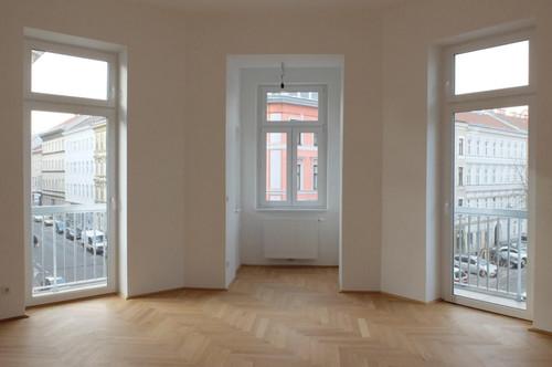 Schöner Erstbezug 2 Zimmer Wohnung mit Balkon / Wohnung am Brunnenmarkt
