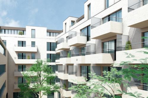 Smarte 2-Z-Whg , sonniger Balkon, Ruhelage, U-Bahn-Nähe, Erstbezug, provisionsfrei