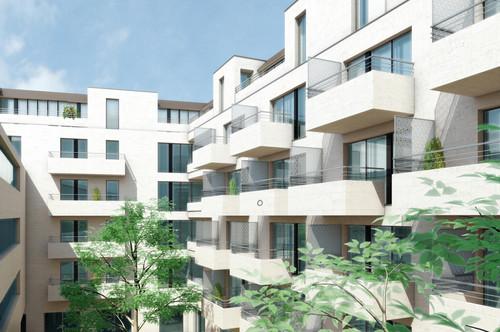 Perfekte 2-Z-Whg, grosser Balkon, Ruhelage, U-Bahn-Nähe, Erstbezug, provisionsfrei