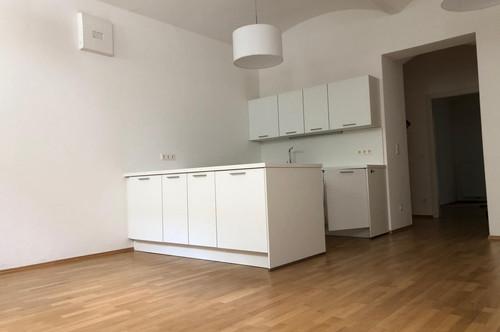 Sanierte 3-Zimmer-Altbauwohnung nahe Uni, WG geeignet