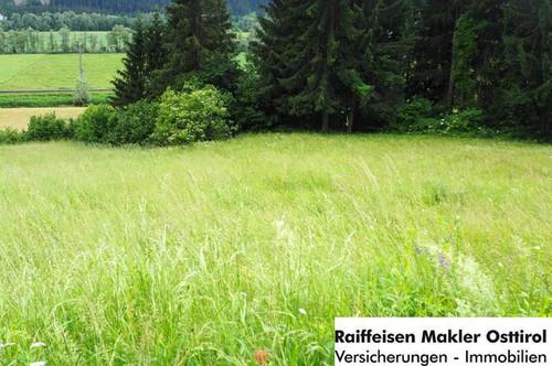 Grundstück in Dellach/Drau