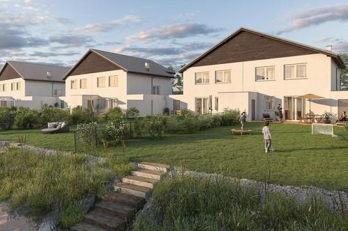 Bruck a.d.Leitha/Prellenkirchen: Urlaub & Wohnen im Doppelpack: Doppelhaushälfte am Badeteich