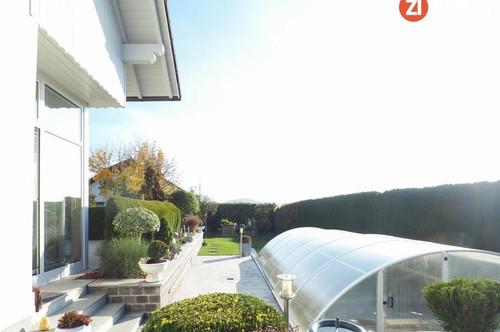 Wunderschönes Haus inkl. Wintergarten, Pool und Gartenanlage - viel Entwicklungspotenzial im DG