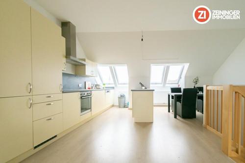 Traumhafte Massionette - Wohnung mit Terrasse und Loggia in bester Zentrumslage!