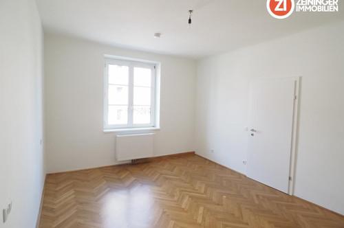 ACHTUNG ab sofort inkl. Küche / Neu sanierte 3 ZI-Wohnung in Urfahr - unbefristetes Mietverhältnis