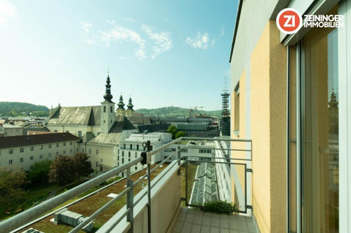 Erstklassige 3 ZI-Wohnung - mitten im Stadtzentrum - mit Balkon