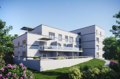 Stadtvilla V 19 - Anlagewohnung mit XXXL Terrasse und Vöcklablick!