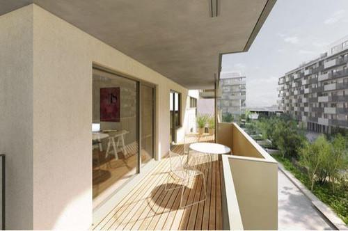 3-Zi. Neubau in zentraler Lage mit großem Balkon in Hofruhelage – Provisionsfrei! Unbefristet!