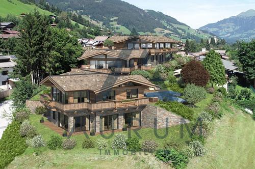 Baugenehmigt: Projekt in Aussichtslage mit Freizeitwohnsitz