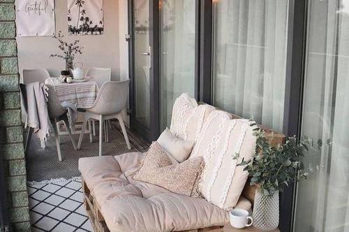 Ruhige 2-Zimmer-Wohnung mit sonnigem Balkon!!!! Top 14 Anlegerwohnung mit optimaler Raumaufteilung