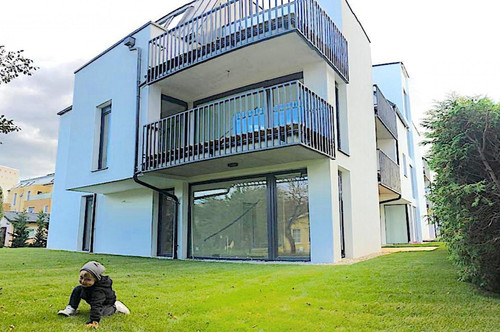 Rarität: Gartenwohnungen in echter in Ruhelage, Erholungsgebiet Alte Donau, Sofortbezug möglich