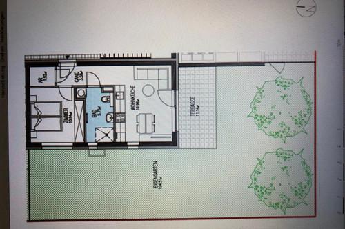 Provisionsfreie 2-Zimmer-Gartenwohnung in Stiftingtal zu vermieten- Erstbezug!