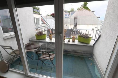 City - Piaristengasse - kleine Terrasse - sonnig/ruhig