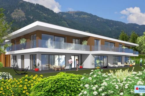 Exklusives Wohnbauprojekt am Sonnenplateau oberhalb von Millstatt am Millstätter See