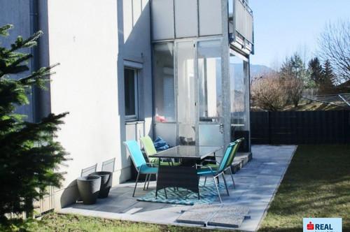 Moderne Wohnung mit Terrasse und Garten nur wenige Autominuten von Villach entfernt