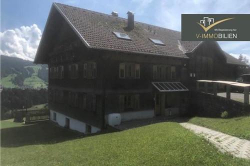 idyllische 3 Zimmer Wohnung im Bregenzerwälderhaus