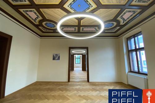 Ein wirklich prachtvolles Büro im Palais!