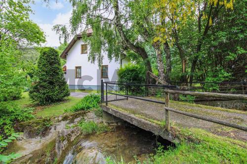 Traumhafte Idylle: Ein- bis Zweifamilienhaus mit viel Potenzial nahe Wiener Neustadt