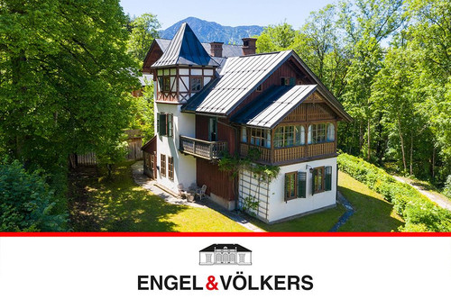 Wundervolle See-Villa in Altaussee