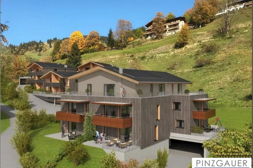 NEUBAU - Geförderte Gartenwohnung in Saalbach-Vorderglemm - 71 m² Top 3