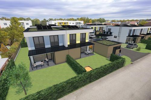 PAVILLON 1 Mauer bei Amstetten: Baubeginn + Neuer Preis für moderne Doppelhaushälfte Provisionsfrei