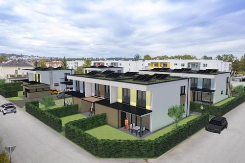 PAVILLON 1 Mauer bei Amstetten: Baubeginn + Neuer Preis für modernes Reihenhaus Provisionsfrei