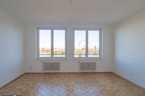 Helle 3-Zi- Wohnung mit Terrasse - Nähe Prater!