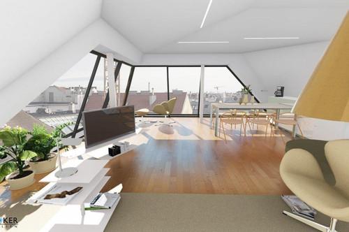 Erstbezug: Moderne 4 Zi. Terrassenwohnung in hochwertig ausgebauten Dachgeschoss