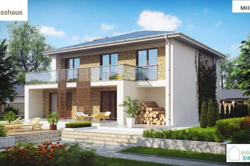 A Unterpullendorf - Top Modernes Einfamilienhaus mit Garage Belags-fertig in Ruhe Lage!