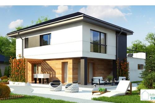 B - Potzneusiedl -Top Modernes Landhaus Belags-fertig mit Garage und Grundstück in Ruhe Lage!