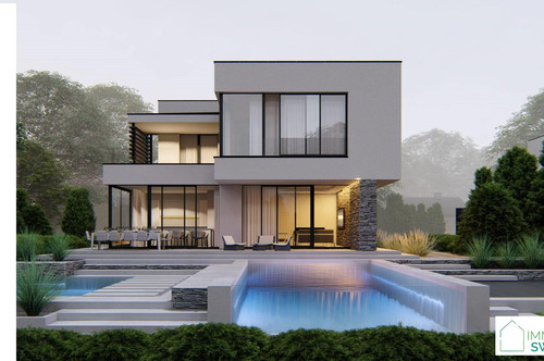 A Eisenstadt - St. Geogen - Ruhe Lage - Top modernes Einfamilienhaus Belags-fertig!