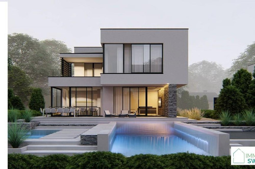 B. Rust - Ruhe Lage - Top modernes Einfamilienhaus Belags-fertig!