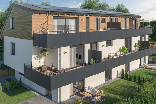 Helle 3 Zimmer Wohnung mit Terrasse im OG