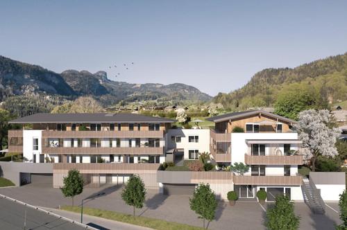 2 Zimmer Wohnung mit 28m² Terrasse
