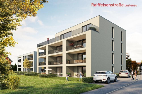 Lustenau: Wohnung mit traumhafter Terrasse